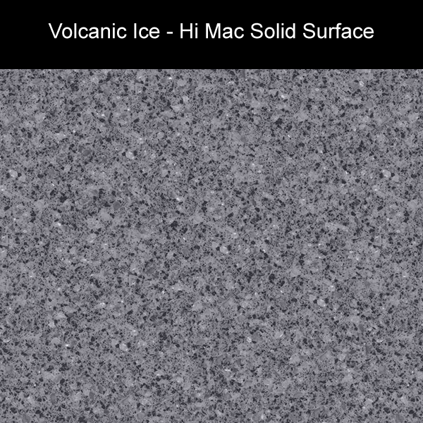 Volcanic Ice | Hi Mac Solid Surface Counter Tops | Amarillo Plastic Fabricators