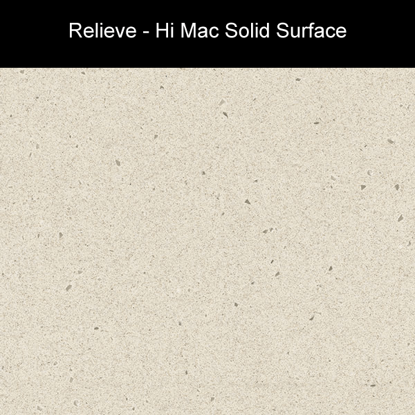 Relieve | Hi Mac Solid Surface Counter Tops | Amarillo Plastic Fabricators