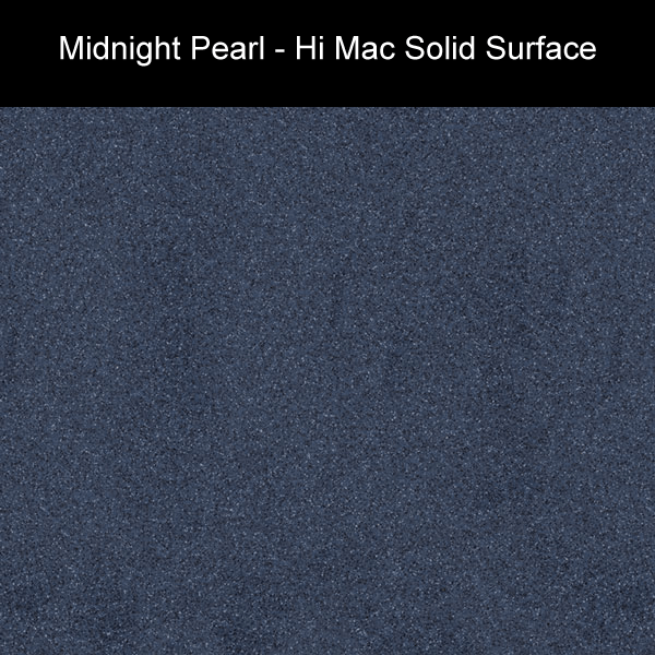 Midnight Pearl | Hi Mac Solid Surface Counter Tops | Amarillo Plastic Fabricators