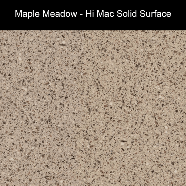 Maple Meadow | Hi Mac Solid Surface Counter Tops | Amarillo Plastic Fabricators