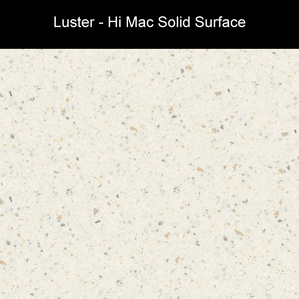 Luster | Hi Mac Solid Surface Counter Tops | Amarillo Plastic Fabricators