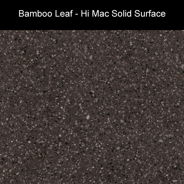 Bamboo Leaf | Hi Mac Solid Surface Counter Tops | Amarillo Plastic Fabricators