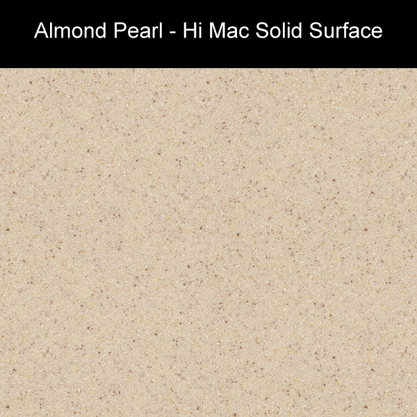 Almond Pearl | Hi Mac Solid Surface Counter Tops | Amarillo Plastic Fabricators